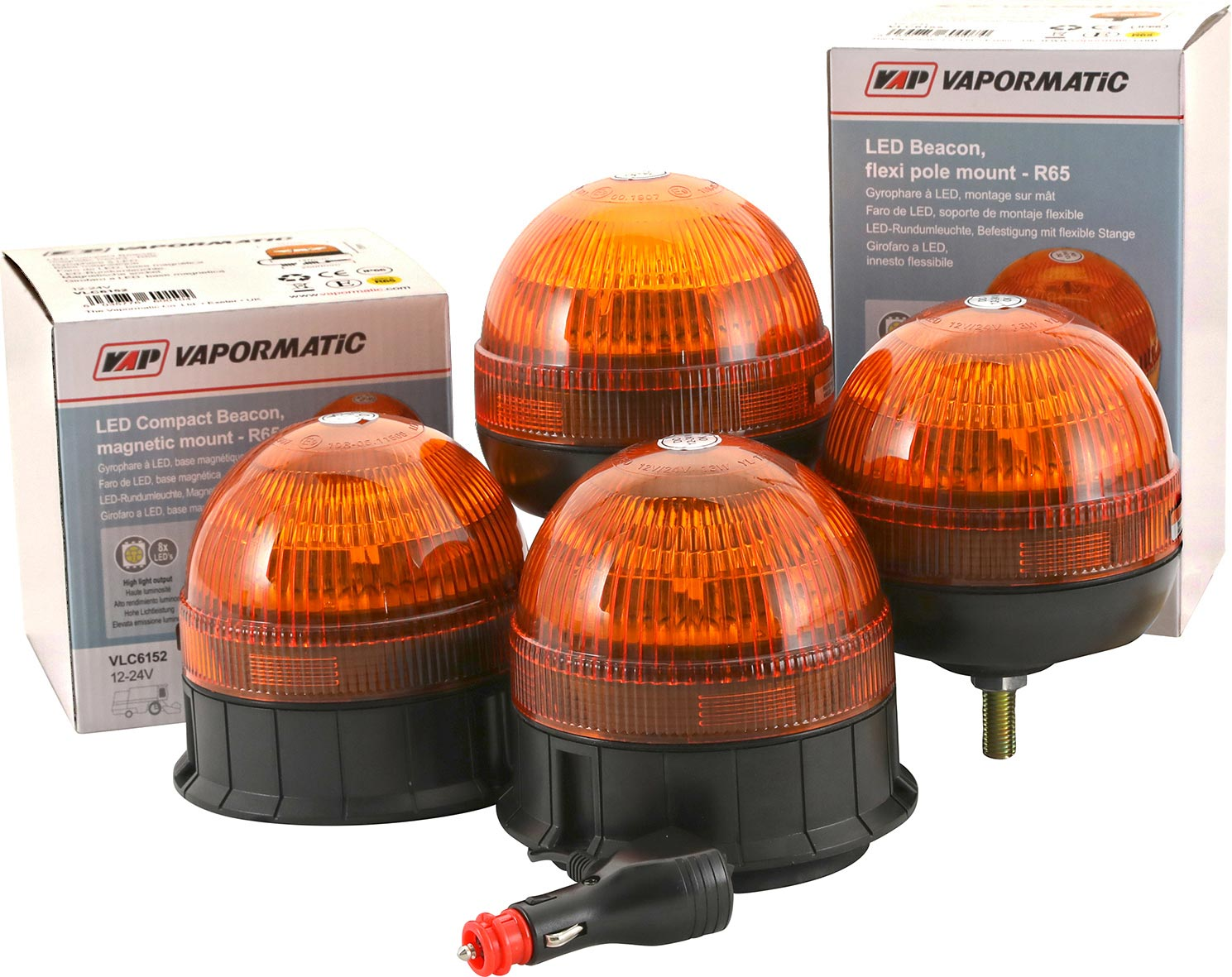 R65 LED Warning Beacons