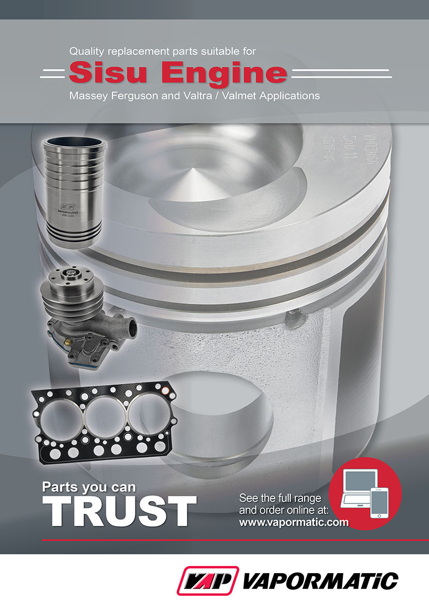 Sisu Engine Catalogue Front Cover